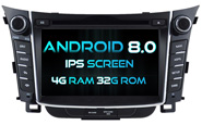 Android 8.0 For HYUNDAI I30 2012 (W2-V5724)