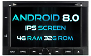 Android 8.0 For PEUGEOT 3008/5008 2009-2011 (W2-V5738)