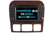 Android 8.0 For MERCEDES-BENZ S CLASS (W2-V5518)