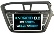 Android 8.0 For HYUNDAI I20 2015 (For Right Hand Driver) (W2-V5566R)
