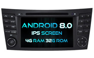 Android 8.0 For MERCEDES-BENZ E CLASS W211 (W2-V5799)