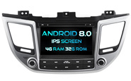 Android 8.0 For HYUNDAI IX35/ Tucson 2015 (W2-V5567)