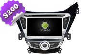 Android 8.0 For HYUNDAI ELANTRA 3 2012 (W2-W360)