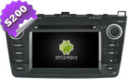 Android 8.0 For New MAZDA 6 Black Frame (W2-W012B)
