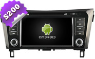 Android 8.0 For NISSAN QASHQAI/X-TRAIL/ROGUE (W2-W353)