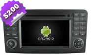 Android 8.0 For MERCEDES-BENZ ML 320/ML 350/ML W164 (W2-W213)