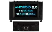 Android 8.0 For PEUGEOT 407 (W2-V5588B)