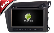 Android 6.0 For HONDA CIVIC 2012 RHD (W2-K7315)