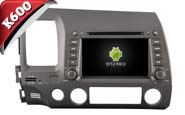 Android 6.0 For HONDA CIVIC 2006-2011 (W2-K7313)