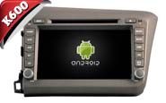 Android 6.0 For HONDA CIVIC 2012 (New Arrival) (W2-K7305)