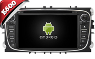 Android 6.0 For FORD MONDEO/FOCUS(>2008)/S-MAX (W2-K7457B)