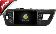 Android 6.0 For TOYOTA COROLLA/LEVIN 2014 (W2-K7150)