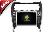 Android 6.0 For TOYOTA CAMRY 2012 US VERSION (W2-K7143)