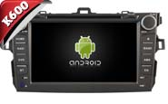Android 6.0 For TOYOTA COROLLA 2007-2012 (W2-K7124)