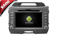 Android 6.0 For KIA SPORTAGE 2010-2014 (New Version) (W2-K7529)