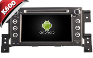 Android 6.0 For SUZUKI GRAND VITARA 2005-2012 (W2-K7660)