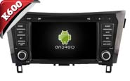 Android 6.0 For NISSAN QASHQAI 2014 (W2-K7908)