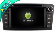 Android 7.1 For TOYOTA AVENSIS 2005-2007 (W2-H5587B)