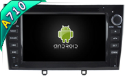 Android 7.1 For PEUGEOT 408 2010-2011 (W2-H5634B)