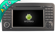 Android 7.1 For MERCEDES-BENZ ML 320/ML 350/GL X164 (W2-H5558)