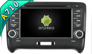 Android 7.1 For AUDI TT 2006-2014 (W2-H5525)