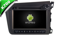 Android 9.1 For HONDA CIVIC 2012 RHD (W2-K6315)