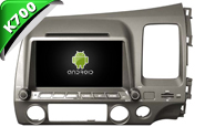 Android 9.1 For HONDA CIVIC RHD (W2-K6307)