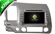 Android 8.1 For HONDA CIVIC 2006-2011 (W2-K6313)