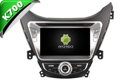 Android 8.1 For HYUNDAI ELANTRA 2010-2013 (W2-K6258)