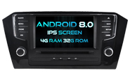 Android 8.0 For VW PASSAT 2016 (W2-V5579)
