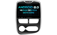 Android 8.0 For RENAULT CLIO 2015 (W2-V5387)