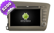 Android 8.0 For HONDA CIVIC For Left Hand Driver (W2-W132)