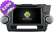 Android 8.0 For TOYOTA HIGHLANDER (W2-W035)