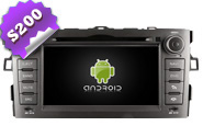 Android 8.0 For TOYOTA AURIS 2007-2011 (W2-W028)