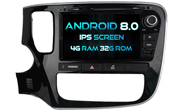 Android 8.0 For MITSUBISHI OUTLANDER 2015 (W2-V7086)