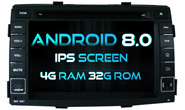 Android 8.0 For KIA SORENTO 2009-2011 (W2-V7042)
