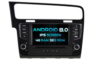 Android 8.0 For VOLKSWAGEN GOLF 7 (W2-V5521)