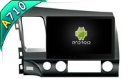For Android 7.1 FOR HONDA CIVIC 2007-2011 (W2-H5327)