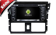 Android 6.0 For TOYOTA YARIS/VISO 2014 (W2-K7189)