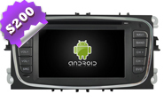 Android 8.0 For FORD Mondeo/Focus/S-max Black Frame (W2-W003B)