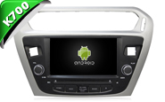 Android 8.1 For CITROEN ELYSEE/PEUGEOT 301 (W2-K6431)