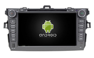 Android 8.0 For TOYOTA COROLLA 2006-2011 (W2-V7630)