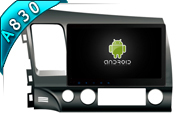 For Android 8.1 FOR HONDA CIVIC 2007-2011 (W2-RH5327)