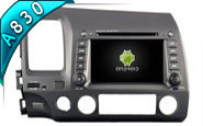 Android 8.1 For HONDA CIVIC 2006-2011 (W2-RH5710)