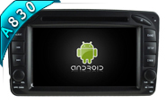 Android 8.1 For MERCEDES-BENZ C CLASS W203 (W2-RH5513)