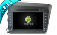 Android 8.1 For HONDA NEW CIVIC 2012 (W2-RH5728)