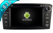 Android 8.1 For TOYOTA AVENSIS 2005-2007 (W2-RH5587B)