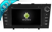Android 8.1 For TOYOTA AVENSIS 2008-2013 (W2-RH5585B)