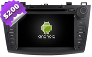 Android 8.0 For MAZDA 3 2010-2012 (W2-W034)