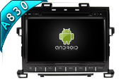 Android 8.1 For TOYOTA ALPHARD 2007-2013 (W2-RH7008)